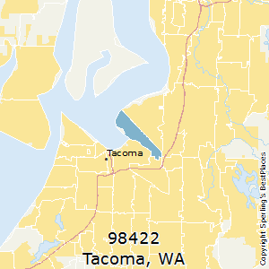Best Places to Live in Tacoma zip 98422 Washington