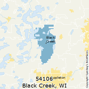 Black_Creek,Wisconsin County Map