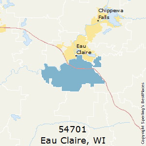 Eau_Claire,Wisconsin County Map