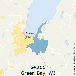 Green_Bay,Wisconsin County Map