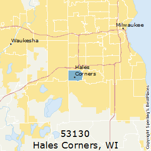 Hales_Corners,Wisconsin County Map