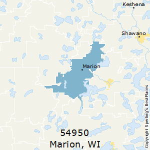 Marion Wisconsin Map.Best Places To Live In Marion Zip 54950 Wisconsin
