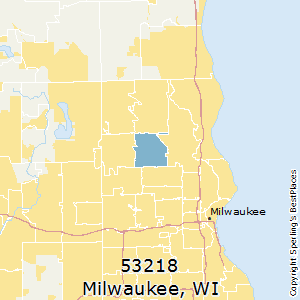 Milwaukee,Wisconsin County Map