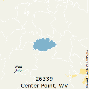Center_Point,West Virginia County Map