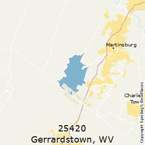 Gerrardstown wv zip code