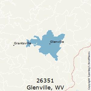 Zip code for glenville wv