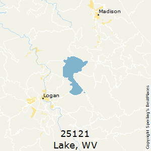 Lake,West Virginia County Map