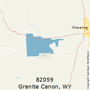 Cheyenne Zip Code Map.Best Places To Live In Granite Canon Zip 82059 Wyoming