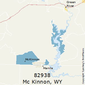 Mc_Kinnon,Wyoming(82938) Zip Code Map