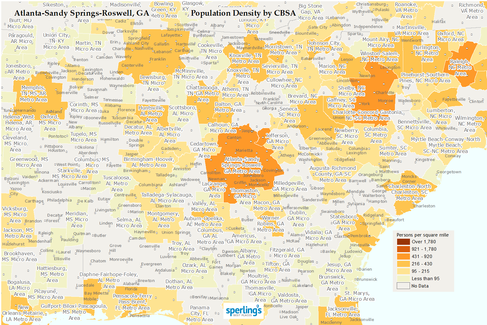 Best Place To Live In Atlanta City